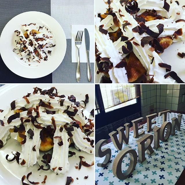 おはようございます️ 本日、9月24日土曜日も通常営業しています♪ベルギーワッフルにホイップクリームとビターなチョコレートをトッピング♪大人なレディにオススメです❣️ 今日も美味しいワッフル&ナポリタンを作ってお待ちしています♪#オリオンスイート #ワッフル #ベルギーワッフル #アメリカンワッフル #ナポリタン #鉄板ナポリタン #ランチ #カフェ #宇都宮 #アフタヌーンティー #ブランチ #おしゃピク #パスタ #パフェ #アイス #ソフトクリーム #ブルーベリー #バナナ #ショコラ #チーズケーキ #コーヒー #紅茶 #ジンジャー #抹茶 #マンゴー #女子会 #orionsweet #waffles #coffee #cafe